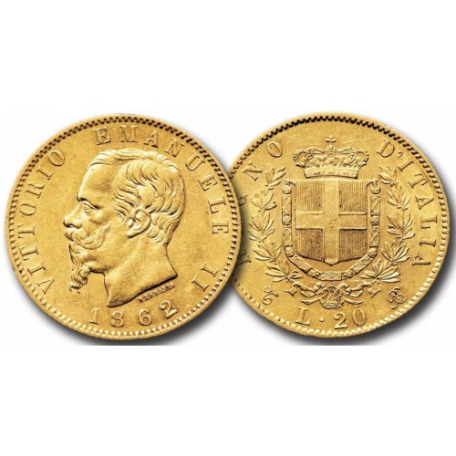 MARENGO 20 LIRE IN ORO