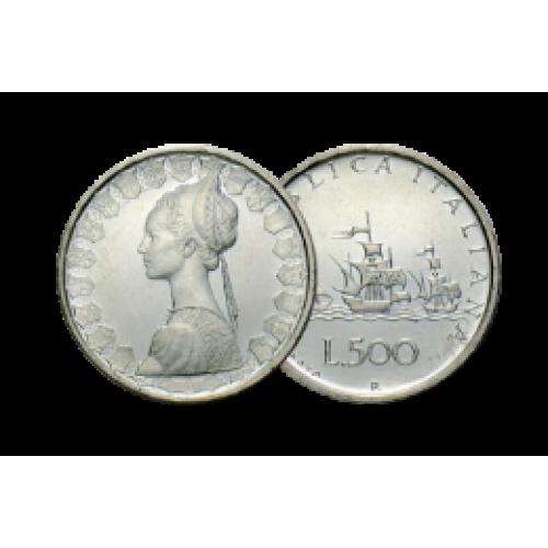 ACQUISTIAMO 500 LIRE IN ARGENTO
